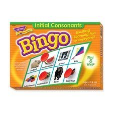 Trend Enterprises Products - Initial Consonants Bingo Game, W/ Mats And 36 Cards - Sold As 1 Bx - Initial Consonants Bingo Game Offers Active Learning That Delivers Results. Practice Phonics With 21 Consonants And 42 Photos. Unique, Six-Way Format Adapts