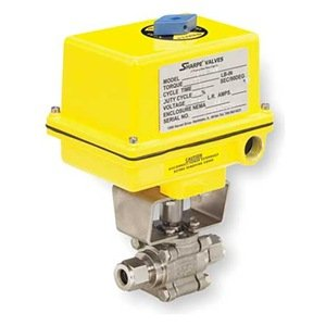 Ball Valve, Electric Actuated, 3/8 In