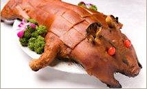 【送料無料】豚丸焼き用 仔豚さん丸ごと1匹(丸焼き用 子豚 1頭)