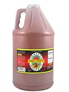 Dave's Gourmet Ghost Pepper Naga Jolokia Hot Sauce Gallon (128 oz) from Dave's Gourmet
