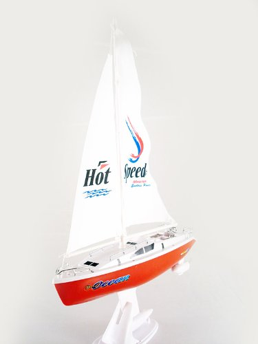 remote control 15'' Electric sail boat sailboat Boat RTR