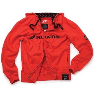 31Nm5slWv4L. SL500 AA300  One Industries Honda 250 Zip Up Hoody   7/Black