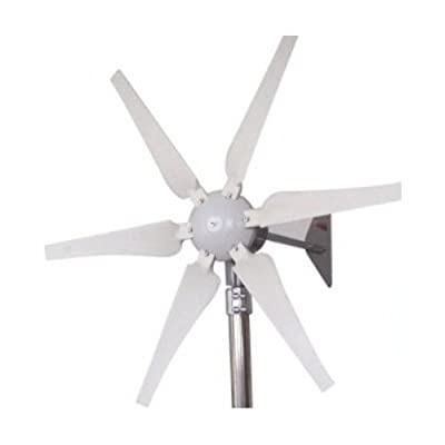 Gudcraft Wg400x 400 Watt 12-volt 6-blade Wind Generator With Charge Controller from VBN Sales, LLC