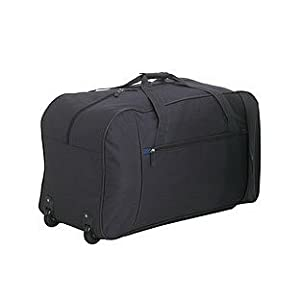 Tesco Classic Wheeled Holdall - Charcoal - Travel - Luggage by Tesco