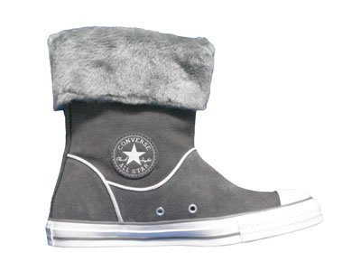 Converse Chuck Taylor All Star Hi Top Andover Boot Charcoal