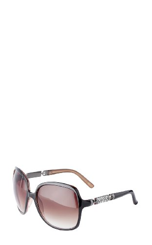 Diamante Barrel Sunglasses