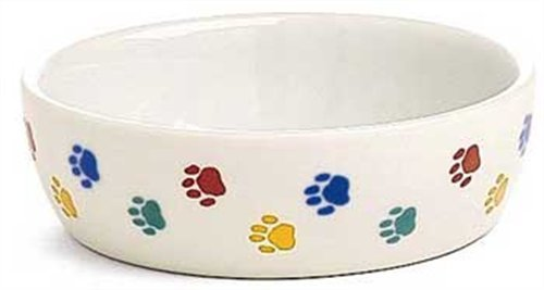 Ethical 5-Inch Cat-Paw Print Stonware DishB0002AS6TU