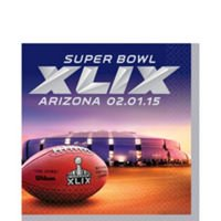 Super Bowl XLIX Lunch Napkins 16 Pack
