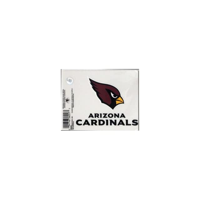 3x4 Nfl Static Cling Arizona Cardinals 3x4 Nfl Static Cling Nfl Fan National Football League American Game Decoration Accessories