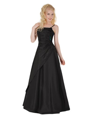 Envie/Paris – 1009 SOPHIA Abendkleid Ballkleid 1-teilig in Schwarz Gr.38-56