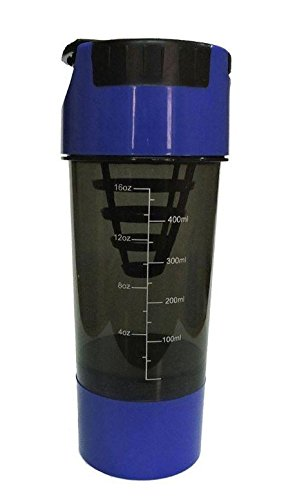 Tuff Blue And Black Cyclone Shaker Bottle