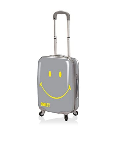 Smiley Luggage Collection 30 Classic Hardcase, Grey