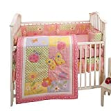 Little Bedding by NoJo 4pc Crib Set Sunny Dayz