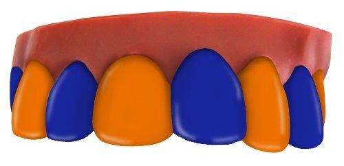 Team Teeth Royal and Orange