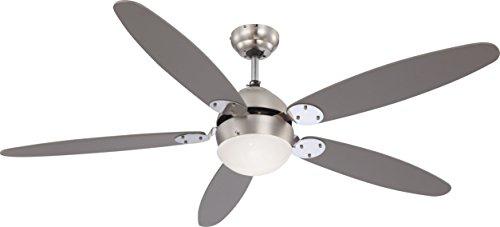 Globo Azura 0308 - Ventilatore a pala da soffitto con luce incorporata