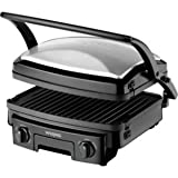 Waring 4in1 Electric Contact Grill Griddle Panini Press - WGR200U