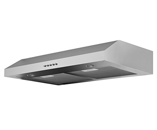 Ancona Slim Plus 30 Under-Cabinet Style Range Hood, 30-Inch, Stainless Steel (Gas Stove Hood compare prices)