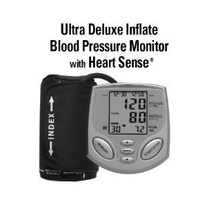 Cheap Samsung Healthy Living Ultra Deluxe Inflate Blood Pressure and Pulse Monitor (BD-1234W)
