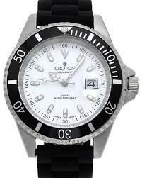 Men'S Croton Divers Watch Ca301157Bssl