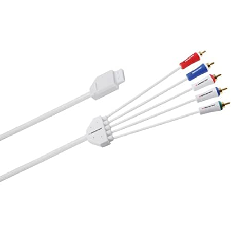 8' Component A/v Cable Wii