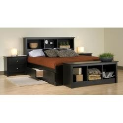 Cheap Kids Bedroom Furniture Set 2 in Black – Sonoma Collection – Prepac Furniture – SNM-BSET-2 (SNM-BSET-2)