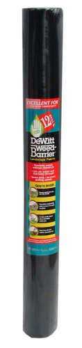 Dewitt 4-Foot by 50-Foot 12-Year Weed Barrier Fabric 12YR450 (Commercial Landscape Fabric compare prices)