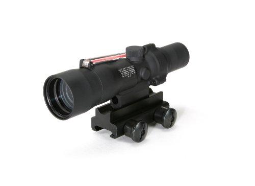 Acog 3 X 30 Scope Dual Illuminated Horseshoe/Dot .223 Ballistic Reticle, Red