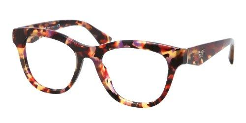 pradaPrada PR04QV Eyeglasses-PDN/1O1 Spotted Havana Pink-49mm