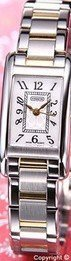 Coach women's two tone gold and stainless steel braclet watch Lexington 14501080 MOP dial