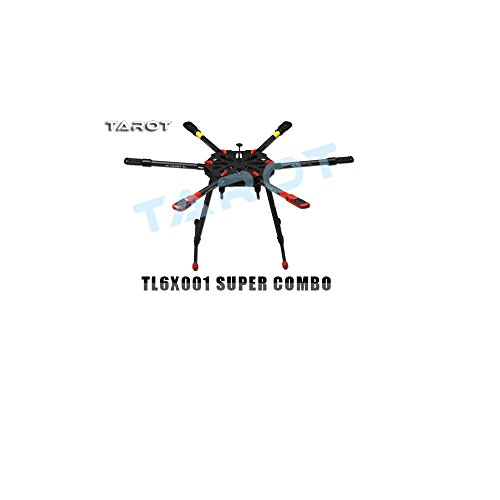 Tarot-X6-6-Axis-Heavy-Lift-RC-Muliticopter-Hexacopter-Frame-TL6X001-w-Motor-ESC-Super-Combo-Not-Assembled