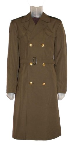 New Original Czech Army Issue Military Trench Coat