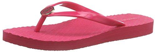 Tommy HilfigerM1285ONICA 33R - Scarpe da Spiaggia e Piscina Donna , Rosa (Pink (PINK SPICE 660)), 37 EU