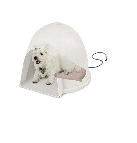 """K&H Pet Products Lectro-Soft Igloo Style Bed Medium 14.5"""" X 24"""" X 1.5"""" 40 Watts - Kh1043 front-1077244"""