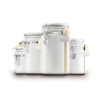 Ca-Electronics Palets en céramique-Blanc-Lot de 4