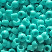 JOLLY STORE Crafts Turquoise Green Pony Beads 9x6mm 500pc jolly 100g