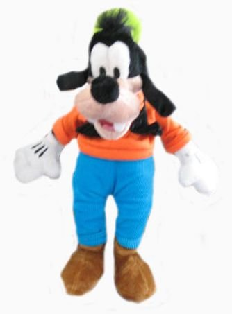 "Disney 9"" Goofy Plush Doll"