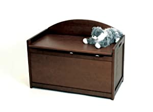 Lipper International Toy Chest, Walnut