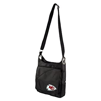 NFL Kansas City Chiefs Ladies Color Sheen Cross Body Purse, Red by Littlearth