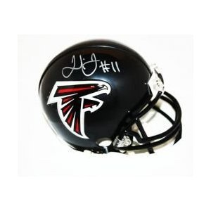 Julio Jones Atlanta Falcons Signed Autographed Mini Helmet Authentic Certified Coa by Riddell