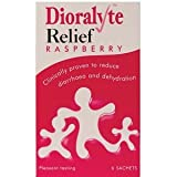 Dioralyte Relief Oral Rehydration Therapy - Raspberry Flavour - 6 Sachets X 5 Pack