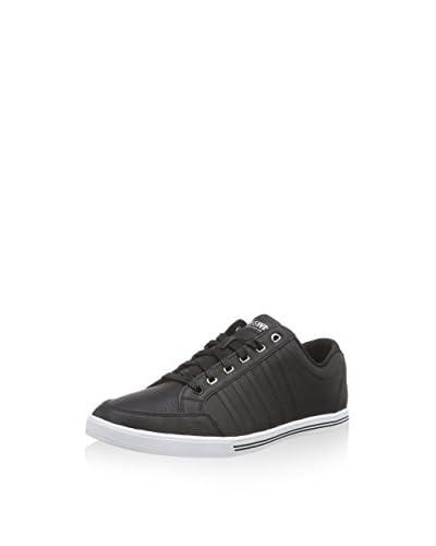 K-Swiss  SET COURT, Sneakers Basses homme - Noir - Schwarz (Black/White 002), 42.5 Noir - Schwarz (B...