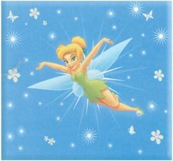 Disney 8x8 Postbound Scrapbook Photo Album TINKERBELL