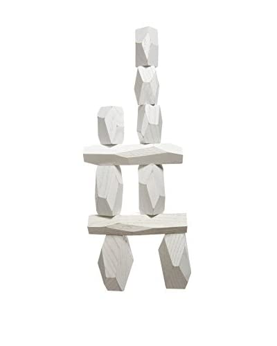 Areaware Balancing Blocks, White