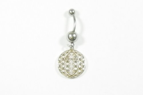 FOL- Belly Ring Ichthus FIAB-BR 20MM (B43)