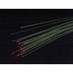 光ファイバー 直径0.5mm 長さ1m 50本<br /> 株式会社シータスク
