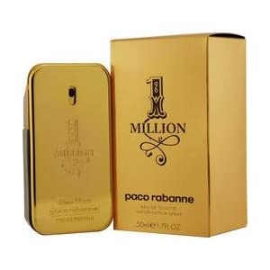 Buy Paco Rabanne Men's Colognes - 1 Million by Paco Rabanne for Men 1.7 oz Eau de Toilette Spray. How-to-Use: For long-lasting effects fragrance should be applied to the body's pulse points. These include the wrist, behind the ear, crease of your arm...