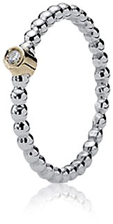 Pandora Women's Ring 58 (18.5) 14 Karat (585) Yellow Gold KASI 19214D - 58