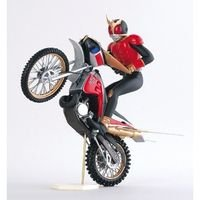 Masked Rider Kuuga & Trychaser 1/12 scale prepainted polystone resin model