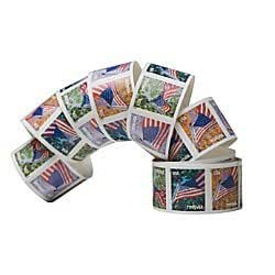 usps forever a flag for all seasons postage stamps self adhesive roll of 100. Black Bedroom Furniture Sets. Home Design Ideas