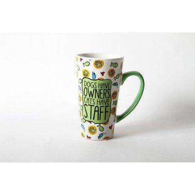 Mr. Snugs Cat Stoneware Latte Mug [Set Of 4]